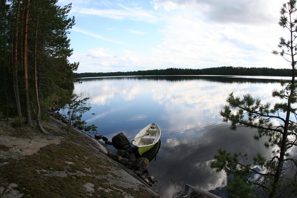 Boat, lake Jylänki